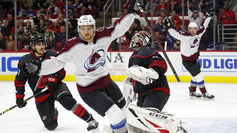 Avalanche Hurricanes Hockey